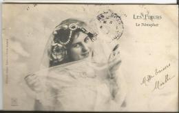 Genre Bergeret  Les Fleurs  Le Nénuphar (éditions DUGAS Nantes) - Femmes