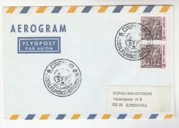 1976  SWEDEN Stamps COVER  OREBRO EVENT Pmk  Aerogramme - Sweden