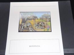 BOTSWANA - Bloc Luxe Avec Texte Explicatif - Belle Qualité - À Voir -  N° 11512 - Botswana (1966-...)