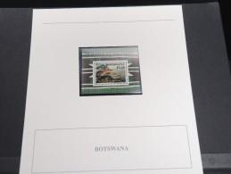 BOTSWANA - Bloc Luxe Avec Texte Explicatif - Belle Qualité - À Voir -  N° 11514 - Botswana (1966-...)