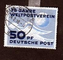 DDR Gestempelt 242 75 Jahre Weltpostverein Katalog 24,00 - DDR