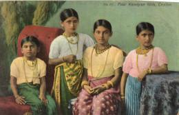 SRI LANKA CEYLAN CEYLON FOUR KANDYAN GIRLS - Sri Lanka (Ceylon)