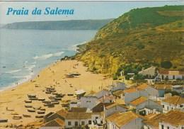 Portugal 55607 Algarve Praia Da Salema Posted - Faro