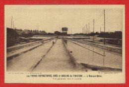 29 - RIEC Sur BELON -- Les Terres Refractaires , Grès Et Kaolins  - Vue Générale Vers La Laverie - France