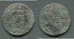 PAYS-BAS ESPAGNOL - COMTE DE NAMUR - PHILIPPE II 1555-1581 - DOUBLE DENIER 1579 - Pays Bas Espagnols