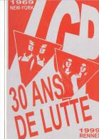 25639 -RENNES 35 France -LGP Pride Gay -30 Ans De Lutte 1999 -dessin Eric Quemener - Homo Homosexualite
