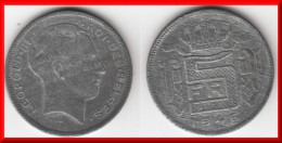 **** BELGIQUE - BELGIE - BELGIUM - 5 FRANCS 1946 LEOPOLD III - ZINC **** EN ACHAT IMMEDIAT - 1934-1945: Leopold III