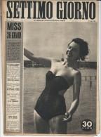 1950 Italian Magazine MARLENE DIETRICH  Article And Photos - Libri, Riviste, Fumetti