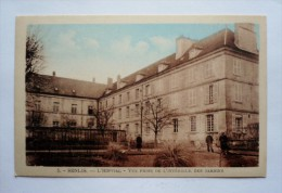 60 - SENLIS - L'hôpital -vue Prise Des Jardins - Senlis
