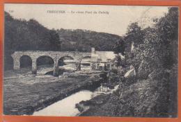 Carte Postale 22. Tréguier Le Vieux Pont Du Guindy    Trés  Beau Plan - Tréguier