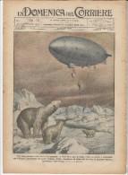 "1926 Italian Magazine LITHO Airship ""Norge"" Flying Over The North Pole + Coronation Of King Of SIAM Sayam  Thailand Thai - Vor 1900"
