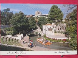 Etats Unis - Texas - San Antonio - Arneson River Theater - Joli Timbre - Scans Recto-verso - San Antonio