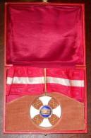 ORDRE DE LA COURONNE D´ITALIE COMMANDEUR EN BOITE - Médailles & Décorations