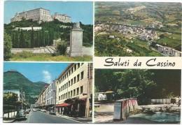O2119 Saluti Da Cassino (Frosinone) - Panorama Vedute Multipla / Viaggiata - Altre Città