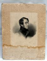 Gravure Ancienne Datée 1862 D' Achille Fould Dédicace Au Comte De Reinkerke? - Engravings