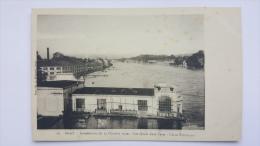 GRAY 70 Innondations Du 14 Octobre 1930 Les QUAIS Dans L'eau USINE ELECTRIQUE Haute Saone CPA Animee Postcard - Gray