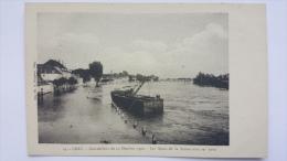 GRAY 70 Innondations Du 14 Octobre 1930 Les QUAIS De La Saone Sous Les Eaux Haute Saone CPA Animee Postcard - Gray