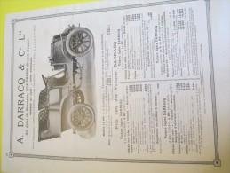 DARRACQ/Suresnes/Voitures Légéres/STRÔM/Tailleurs Pour Automobilistes/Paris/Annuaire Exportation Lacarriére/1901  ILL71 - Automobile