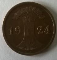 2  Pfennig 1924 J - - [ 3] 1918-1933 : Weimar Republic