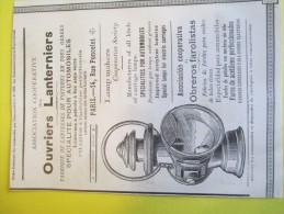 Ouvriers Lanterniers Et Vve Geniés/Fabricants De Lanternes Pour Automobiles//Annuaire Exportation Lacarriére/1901  ILL74 - Cars
