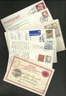 Lot De 7 Lettres & Cartes / Covers & Card >>>>ALLEMAGNE / 1894 1988.....5 Scans - Suède
