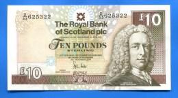 Scotland   Plc  10  Pôunds - [ 3] Scotland