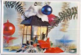 AK Materialkarten > Sonstige 3 D CHRISTMAS WEIHNACHTEN  Dreidimensionale POSTKARTEN ANSICHTSKARTE - Cartes Postales