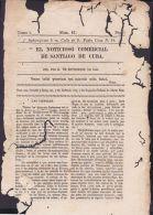BP237 SPAIN NEWSPAPER ESPAÑA 1827 EL NOTICIOSO STIAGO DE CUBA 16.09.1827. 31x20 - [1] Until 1980