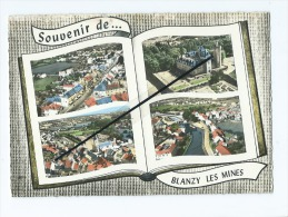CPM  - Souvenir De...Blanzy Les Mines  Multiviues  -  Livre - Autres Communes
