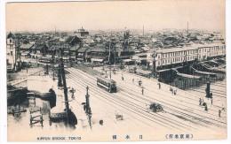 ASIA-650    TOKYO : Nippon Bridge ( With Tram) - Non Classificati