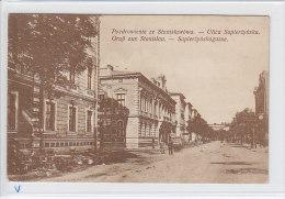 Stanislau (UA) Stanislawowa, Stempel Etappentrainzug, Lichtdruck, Ca. 1910  ***70832 - Ukraine