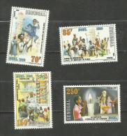 Sénégal N°680 à 683 Neufs Avec Trace De Charnière* Cote 5.75 Euros - Senegal (1960-...)