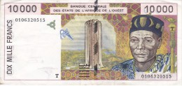 BILLETE DEL TOGO DE 10000 FRANCS DEL AÑO 1996  (BANKNOTE) - Togo