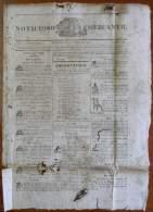 BP256 CUBA SPAIN NEWSPAPER ESPAÑA 1824 NOTICIOSO MERCANTIL 09/10/1824 39X28cm. - Magazines & Newspapers