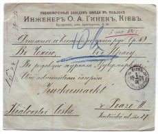 RUSSIE LETTRE - 1857-1916 Empire