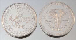 Bénin 1500 CFA 2005 Coin Fairs Argent Pur .999 Europe - Benin