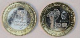 Bénin 6000 CFA 2003 Kerekou Bimetal Président - Benin