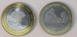 Bénin 6000 CFA 2005 Archbishop Bimetal Pape - Benin