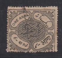 HYDERABAD  State  1A  Revenue Type 10 K&M 101 # 89454  Inde Indien India Fiscaux Fiscal Revenue - Hyderabad