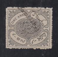 HYDERABAD  State  1A  Revenue Type 10 K&M 101 # 89458  Inde Indien India Fiscaux Fiscal Revenue - Hyderabad
