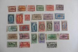 Congo Français  : 28 Timbres   Oblitérés - Congo Français (1891-1960)