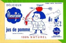 BUVARD & Blotting Paper : JUS DE POMME Fleurjoie  Exclusivité BARDINET NEGRITA - Limonades