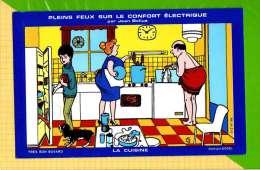BUVARD & Blotting Paper :Pleins Feux Sur Le Confort Electrique LA CUISINE - Electricité & Gaz
