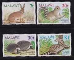 MALAWI, 1984, Mint  Lightly Hinged Stamps , Animals, 424-427 , #4598 - Malawi (1964-...)