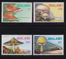 MALAWI, 1985, Mint  Lightly Hinged Stamps , Mushrooms, 441-444 , #4602 - Malawi (1964-...)