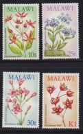 MALAWI, 1987, Mint  Lightly Hinged Stamps , Christmas Flowers, 489-492, #4614 - Malawi (1964-...)