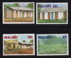MALAWI, 1989, Mint  Lightly Hinged Stamps , United Nations, 537-540, #4623 - Malawi (1964-...)
