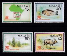 MALAWI, 1990, Mint  Lightly Hinged Stamps , SADCC Conference, 553-556, #4625 - Malawi (1964-...)