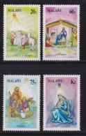 MALAWI, 1991, Mint  Lightly Hinged Stamps  , Christmas, 577-580, #4628 - Malawi (1964-...)