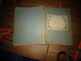 Ancien Cahier Scolaire D'Histoire Et Etiquette De La Papeterie Librairie Ch Rambaud Besançon +- 1900 - Buvards, Protège-cahiers Illustrés